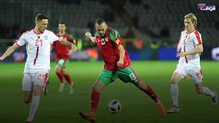 بالفيديو..فرحة الأسود بهدفين أمام صربيا بإيطاليا في دقيقة | بــووز