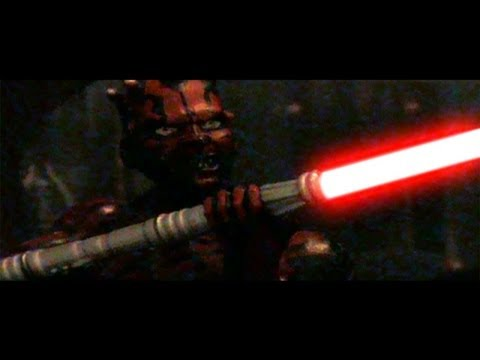 Mace Windu vs Darth Sidious / Darth Maul - Stop Motion ...