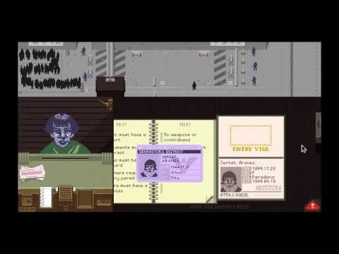 Papers, Please (Ending 1) Gameplay and Commentary