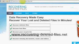 Recover Deleted Excel File Right NOW