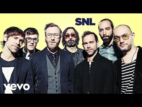 The National - I Need My Girl (Live on SNL)