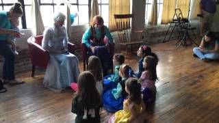 "Frozen Themed Birthday Party Anna And Elsa Sing ""Let It"