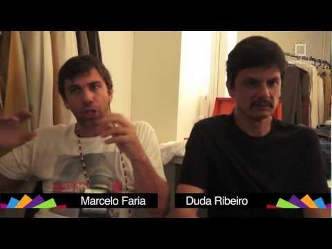 Marcelo Faria e Duda Ribeiro: despedida de Dona Flor no Imperator