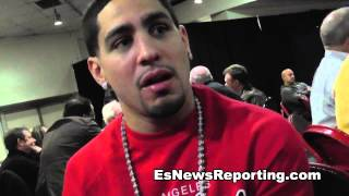 Danny Garcia Talks Amir Khan Speed