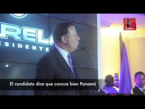 Juan Carlos Varela recibe credenciales y fustiga a Cambio Democr&#225;tico