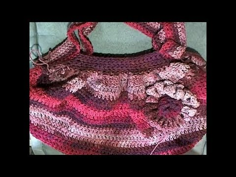 Beginner Hobo Bag - Crochet Tutorial - YouTube