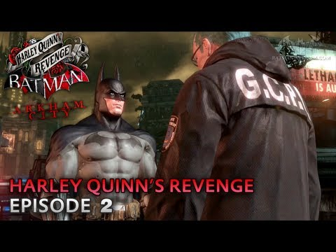 Batman: Arkham City - Harley Quinn's Revenge DLC - Walkthrough (Part 2) -fGd7S3Hly-w
