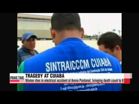 World Cup: 8th worker dies in Brazil stadium construction