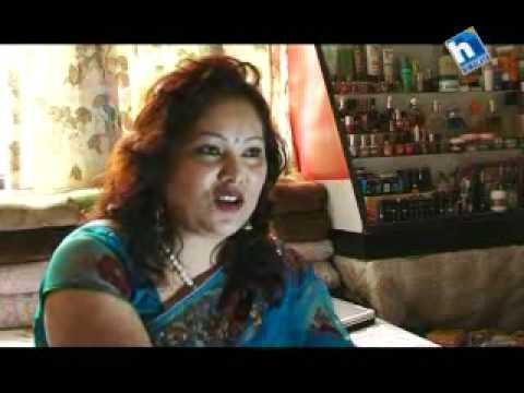 Aadha Aakash with Sushma Karki