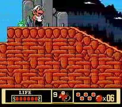 Weird Pirated Games: Mario 10/Kung Fu Mario (NES), A hack of Jackie Chan's Action Kung Fu, where Jackie Chan has been given a huge Mario head. It's funny how the main character looks more like a caricature of...
