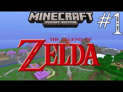 Minecraft Pocket Edition: The Legend of Zelda: Blocks of Time - Part 1