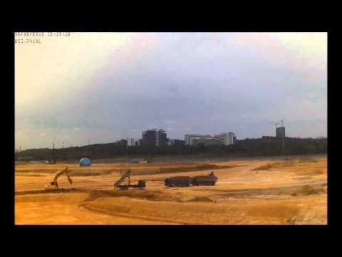 Time Lapse Cyberjaya Mosque : 21st May - 04th September 2013