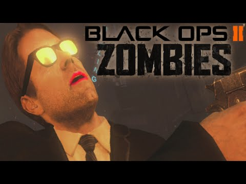 Angry Zombies Kid - Black Ops 2 Zombies TOWN With Randoms