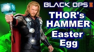 Black Ops 2 Easter Egg ' How To Find Thor Hammer