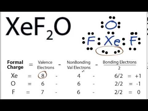 XeF2O Lewis Structure - How to Draw the Lewis Structure ...