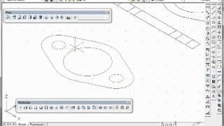 Dibujo 3D Brida Con AutoCAD Tutorial