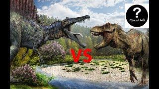 Top 4 Khủng Long Ăn Thịt Có Thể Đánh Bại Khủng Long Bạo Chúa T rex - Sự thật #1 || Bạn có biết?