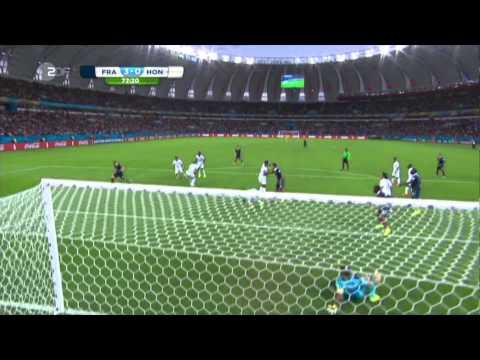 France vs Honduras 3 0, Benzema Hattrick