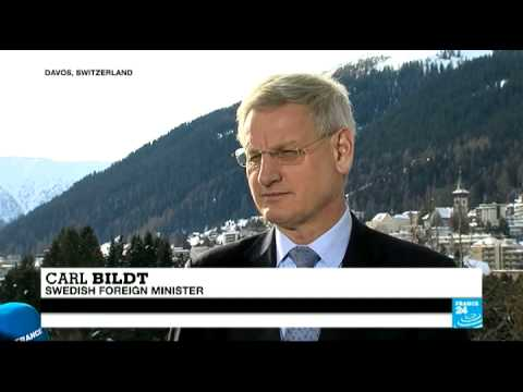 Davos: Interview with Carl Bildt, Swedish Foreign Minister