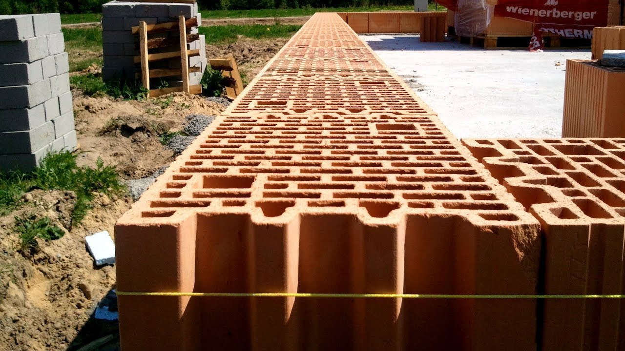 Building a house step by step full hd day 16 bricklaying First step to building a house