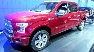 2015 Ford F150 Platinum Exterior And Interior Walkaround