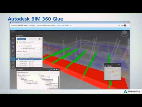 Autodesk BIM 360 Glue - Clash Detection Demo