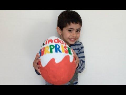 Huevo Kinder Sorpresa Super Gigante  - Peppa Pig, TMNT, La Casa de Mickey Mouse Juguetes y Dulces