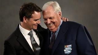 Hendrick thanks his NASCAR family in Hall of Fame speech. Гонки Наскар. Смотреть видео Nascar