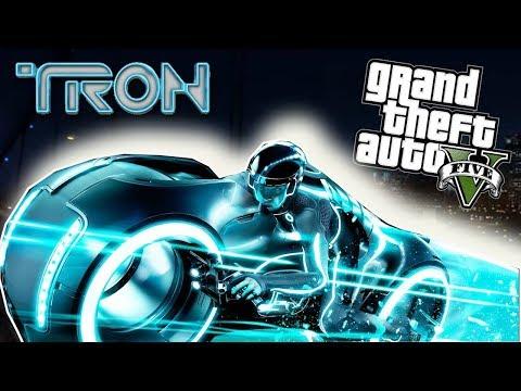 GTA 5 Mod - Tron Legacy Đi Tới Tương Lai Tìm Tron Flash Thì Gặp Zombie #1