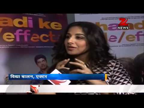 Vidya Balan and Farhan Akhtar talk about ''Shaadi Ke Side Effects''