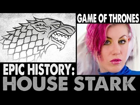 EPIC HISTORY: House Stark  . (2nd Edition 2014 )  . Game of Thrones