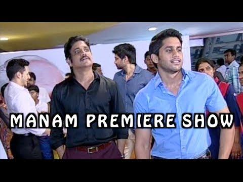 Manam Movie Premiere Show - Full Length - ANR, Nagarjuna, Naga Chaitanya, Samantha