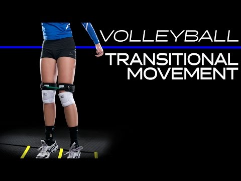 Volleyball Transititonal movement | Increase speed and reaction time