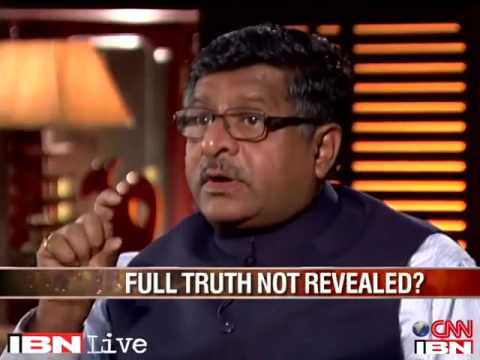 Ravi Shankar Prasad in program