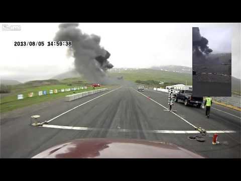 Camera flagra avião caindo