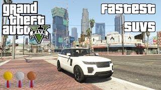 The Fastest SUVs In GTA V