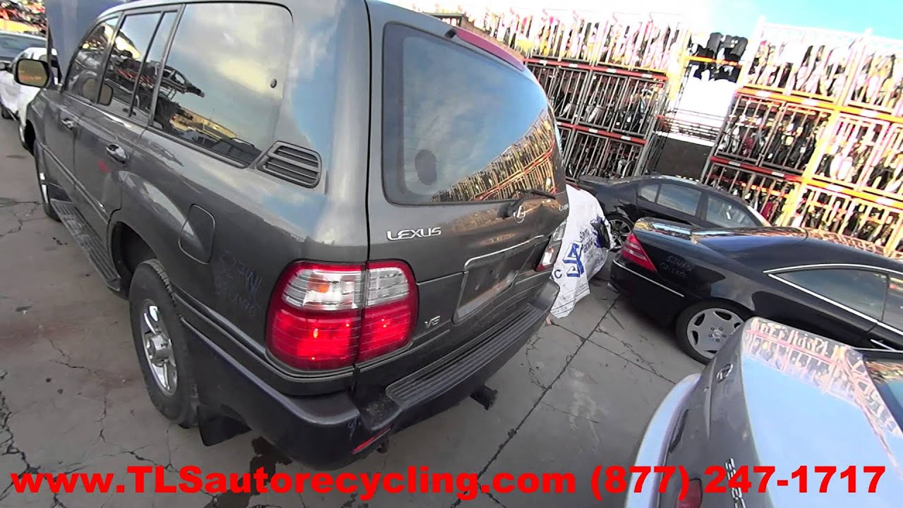 parting out 1998 lexus lx 470 stock 5274yl tls auto recycling 1998 lexus lx 470