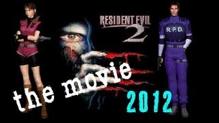 Resident Evil 2 The Game Movie (Full Movie) 2012 HD