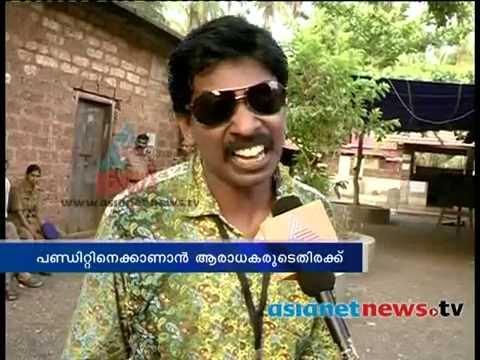Kerala Election 2014 :Santhosh Pandit turn polling officer പോളിംഗ് ഓഫീസറായി സന്തോഷ് പണ്ഡിറ്റ്