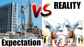 EXPECTATION VS REALITY Twins IN VEGAS!