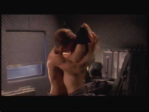 The thumbnail Starship troopers shower scene