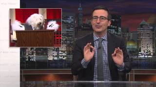 John Oliver: Supreme Court + Cute Puppies = Informed Electorate
