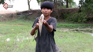 DIY Wooden BowFishing - Amazing Boys Shoot A Lot of Fish With The Creative Wooden Bowfishing