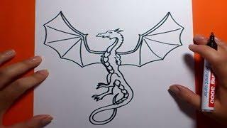 Como Dibujar Un Dragon Paso A Paso 7 How To Draw One
