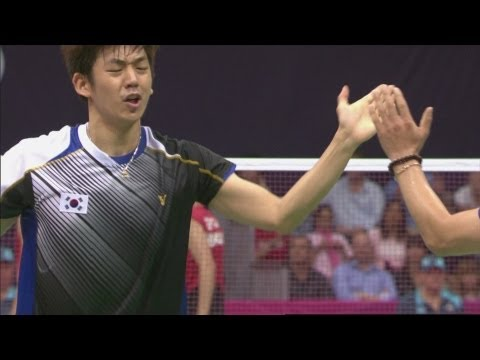 Badminton Men's Doubles Quarterfinals - INA v KOR - Full Replay -- London 2012 Olympic Games