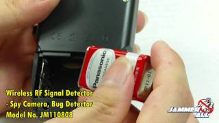 Wireless RF Signal Detector Spy Camera, Bug Detector