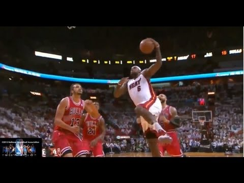 Lebron James Offense Highlights 2012/2013 Part 6