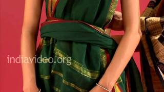 How To Wear A Saree In Tamil Pinkosu Style India