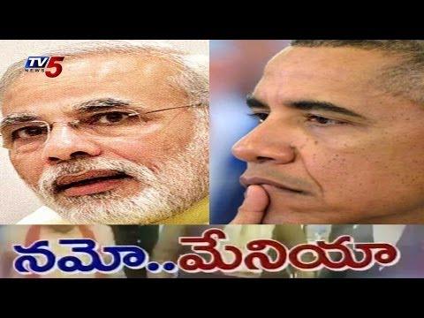 Barack Obama congratulates Narendra Modi