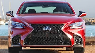 2018 Lexus LS 500 F SPORT - More Exciting Luxury Sedan. YouCar Car Reviews.